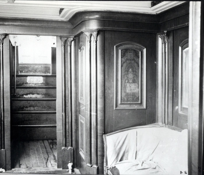 Cabin of the ship Benjamin F. Packard