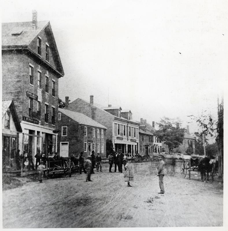 Main Street, Searsport, L. W. Edwards' Shop
