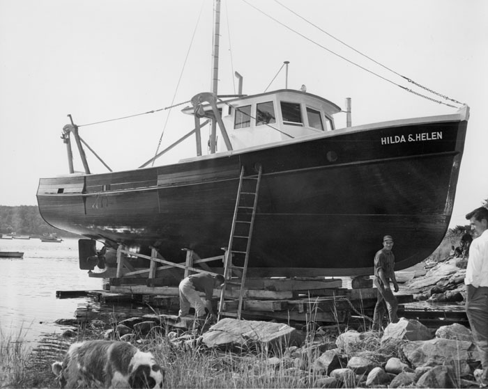 Launch of Dragger Hilda and Helen