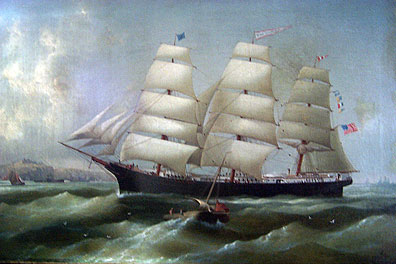 Ship 'Nancy Pendleton'