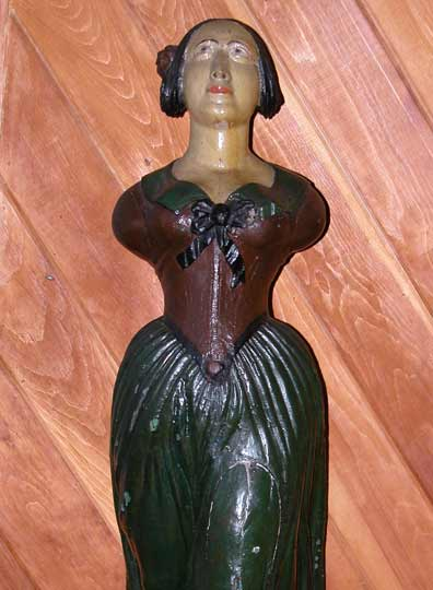 Figurehead with Dark Green Skirt
