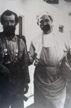 Carpenter and Cook Aboard Ship