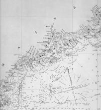 Chart of the Maine Coast