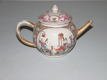 Chinese export ceramic teapot