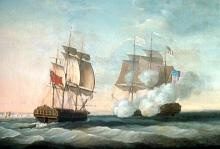 HMS 'Shannon' captures USS 'Chesapeake', June 1, 1813