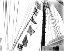 Hoisting Signal Flags