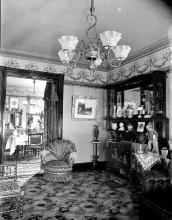 Interior view, Searsport home