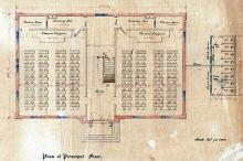 Searsport Union School House plan