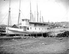 Steamer 'Sedgwick' Under Construction
