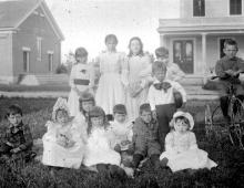 Sunday School Class, First Congregational Church, Searsport