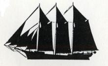 Three-Masted Schooner Sailplan