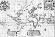 Wright's Chart of the World, 1599